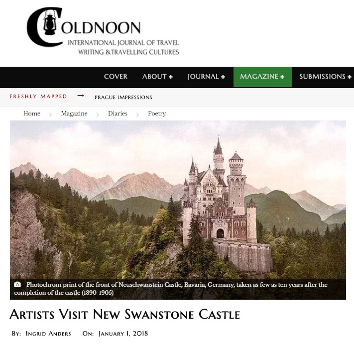 Artists Visit New Swanstone Castle cover image