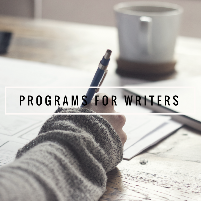 programs for writers image
